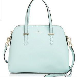 Light blue Kate spade cedar st maise purse